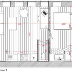 Plan de la deuxième version: Murs de style  par Dem Design
