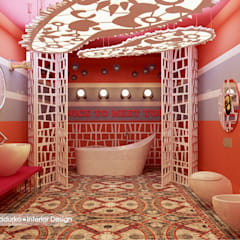 Концепт шоу - рума для Laufen: Выставочные центры в . Автор – Design by Ladurko Olga