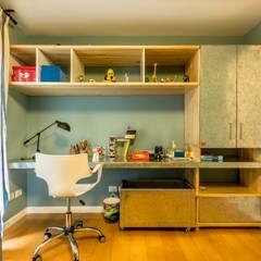 Dormitorios infantiles de estilo  por Interiores B.AP, Industrial Cobre/Bronce/Latón