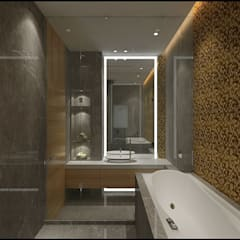 Toilet:  Bathroom by VT architects