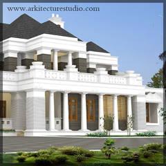 Будинки by Arkitecture studio,Architects,Interior designers,Calicut,Kerala india,