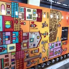 SOM BANYO – RİXOS WORLD THEMA PARK:  tarz Duvarlar,