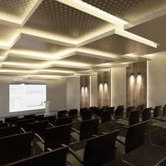 Pronil – Konferans Salonu: modern tarz Multimedya Odası