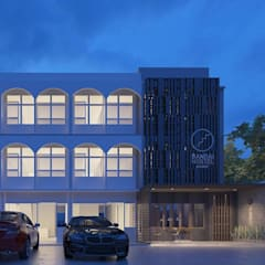 Hotels by bandai architects studio