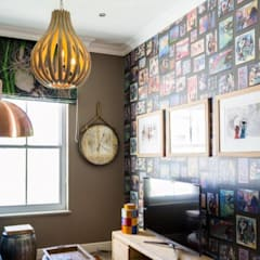 House Paterson Road:  Study/office by The Painted Door Design Company, Eclectic