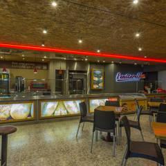 Panettiere Cr 11 - Cll 73: Locales gastronómicos de estilo  por Bloque B Arquitectos
