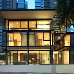 Paterson 3:  Houses by AR43 Architects Pte Ltd,Modern