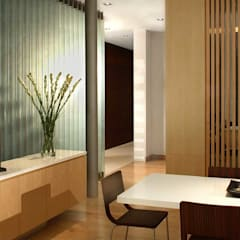 WHITEHOUSE PARK Asian style study/office by HB Design Pte Ltd Asian