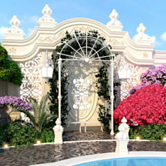 Landscaping of Katrina Antonovich :  Garden by Luxury Antonovich Design