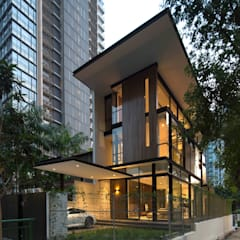 Paterson 3:  Houses by AR43 Architects Pte Ltd