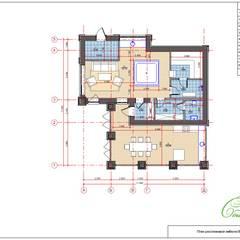 Изящный загородный дом: Дома в . Автор – Компания архитекторов Латышевых 'Мечты сбываются'