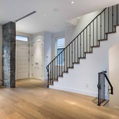 VANCOUVER  - NEW CONSTRUCTION:  Corridor & hallway by Alice D'Andrea Design