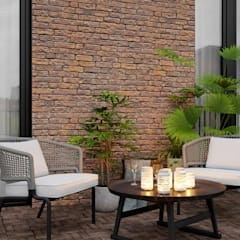 Terrace by homify, Eclectic