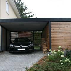 Design Metallcarport München: moderne Garage & Schuppen von Stahlzart®