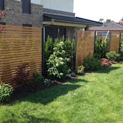 Design Sichtschutz-Zäune:  Garten von Stahlzart®