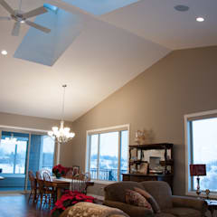 Main Floor Living Space:  Skylights by Drafting Your Design