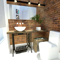 Phòng tắm by Andressa Cobucci Estúdio