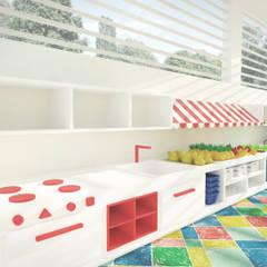 Escuelas de estilo  por Andressa Cobucci Estúdio