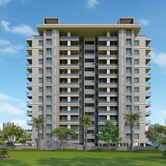 Maniratnam Heights:  Houses by KCL-Solutions,