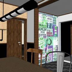 Lugares para eventos de estilo  por Andressa Cobucci Estúdio
