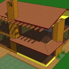 Vista Aerea: Casas de estilo  por ARMANDO PRIETO - ARQUITECTO