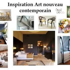 Inspiration Art Nouveau: Chambre de style de style Colonial par L'Oeil DeCo