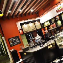 Restaurantes de estilo  por Workshop, diseño y construcción