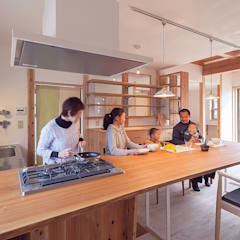 مطبخ تنفيذ 株式会社 建築工房零, إنتقائي