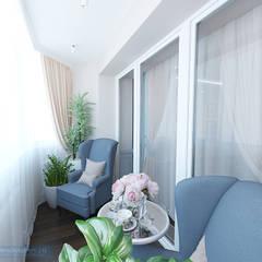 Дизайн-проект 4-х комнатной квартиры 180 кв м : Tерраса в . Автор – Студия интерьера Дениса Серова