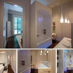 Marigny Residence, New Orleans:  Bedroom by studioWTA