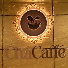 Chá Caffé - Felgueiras: Espaços de restauração  por Traço M - Arquitectura