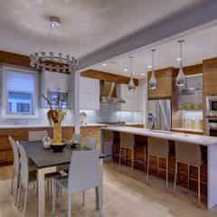 61 Paintbrush Park:  Kitchen by Sonata Design,Eclectic