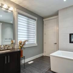 Private Residence: modern Bathroom by Sonata Design