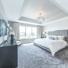 Broadview Showhome:  Bedroom by Sonata Design,
