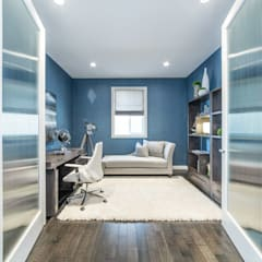 Broadview Showhome:  Study/office by Sonata Design