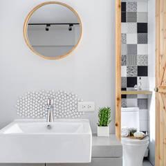 磨設計의  욕실, 에클레틱 (Eclectic)
