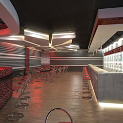 Night Club:  Bars & clubs by HEID Interior Design,