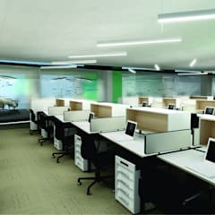 Corporate Office Installation:  Offices & stores by HEID Interior Design