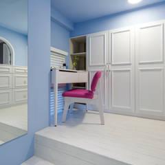 青年99成家專案─美式簡約:  更衣室 by 磨設計