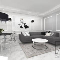 Mieszkanie w Poznaniu : styl , w kategorii Siłownia zaprojektowany przez SZTYBLEWICZ ARCHITEKCI