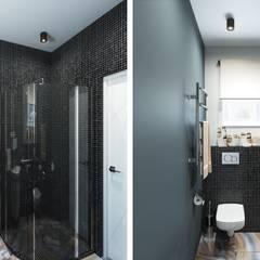 Дом в современном стиле: Ванные комнаты в . Автор – Center of interior design