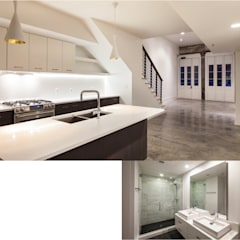 Natchez Street Mixed Use Structure, New Orleans:  Bathroom by studioWTA