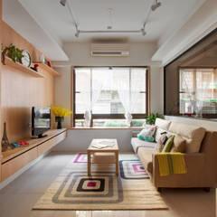 Living room by 一葉藍朵設計家飾所 A Lentil Design , Scandinavian