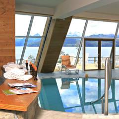 Hotel Sol Arrayan: Spa de estilo  por Sidoni&Asoc,Moderno
