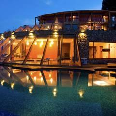 Hotel Rochester: Spa de estilo  por Sidoni&Asoc
