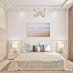 Dormitorios de estilo  por Ирина Рожкова - частный дизайнер интерьера