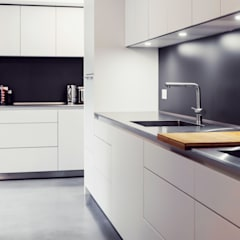 Extension & House Renovation SW18 - London:  Kitchen by Diamond Constructions Ltd