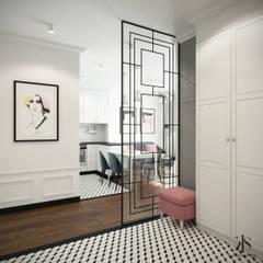 Mieszkanie na Żoliborzu - Hol: styl , w kategorii Korytarz, przedpokój zaprojektowany przez Kamińska Stańczak