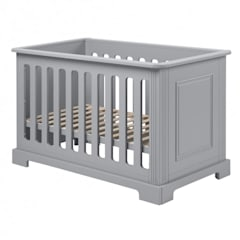 Daisy Grey Baby Cot :  Baby room by Funique Furniture