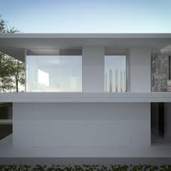 Nuova abitazione bifamiliare: Case in stile  di MIDE architetti